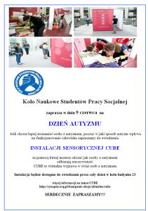 Instalacja Sensoryczna CUBE na UKSW